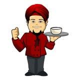 厨师hindy2 免版税库存图片