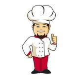 厨师tumb 库存照片