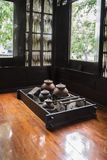 厨房内部泰国经典之作 图库摄影