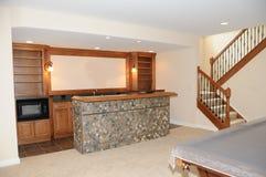 厨房台球室 免版税图库摄影