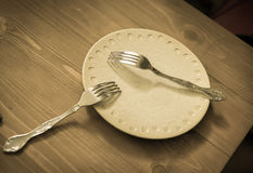 厨房和餐馆辅助部件 库存照片