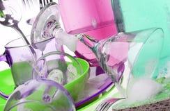 厨房器物 免版税库存照片