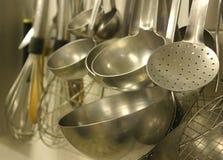 厨房器物 免版税库存图片