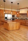 厨房垂直 免版税库存照片