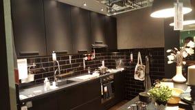厨房安排在家 图库摄影