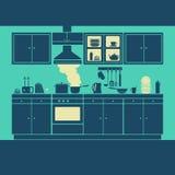厨房家具传染媒介 库存照片