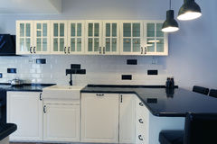 厨房家具 库存照片