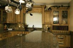 厨房居住现代 图库摄影