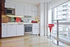 厨房工作室 免版税库存照片