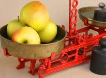 厨房平衡标度 库存照片