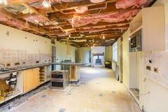 厨房整修 免版税库存图片
