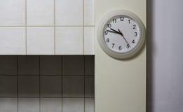 厨房时钟 库存图片