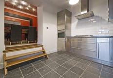 厨房最低纲领派 库存照片