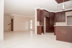 厨房最近修建议院 库存照片