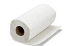厨房毛巾纸 免版税库存图片
