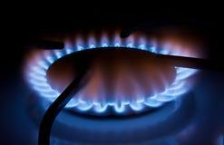 厨房气体 免版税库存照片