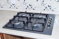 厨房煤气炉 库存照片