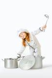 厨房现有量。 免版税图库摄影