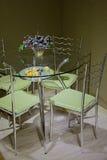 厨房用桌的片段 库存图片