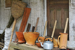 厨房的工具 免版税库存图片