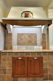 厨房简单的样式 免版税库存照片