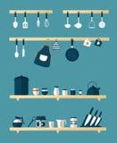 厨房象,传染媒介 图库摄影
