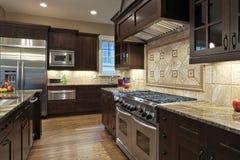 厨房豪华 免版税图库摄影