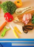 厨房辅助部件 免版税库存照片