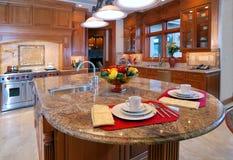 厨房顶层 免版税库存照片