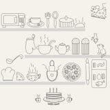 厨房项目象对您的 免版税图库摄影