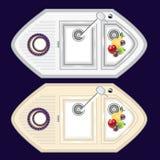 厨房水槽由金属和石头制成 与o的厨房水槽 库存例证