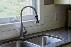 厨房水槽 库存图片