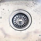 厨房水槽 免版税库存图片