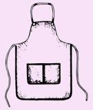 厨房围裙 免版税库存图片