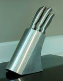 厨房knifes设置了 库存图片