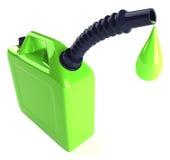 去的油价  免版税库存图片