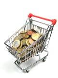 去的购物 免版税库存照片
