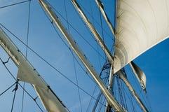 去风帆 免版税库存图片
