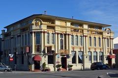 县旅馆大厦艺术装饰纳皮尔新西兰 免版税库存图片