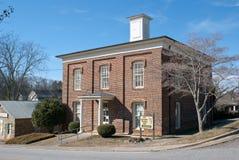 县dahlonega佐治亚有历史的监狱lumpkin 免版税库存图片