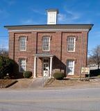 县dahlonega佐治亚有历史的监狱lumpkin 免版税图库摄影