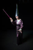 参与魔术妇女 免版税库存照片