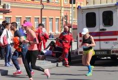 参加者变化马拉松 免版税图库摄影