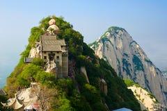 参天北部peak_huashan_xian 免版税库存图片