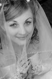 参考新娘在神 库存图片