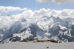 参见滑雪驻防zell 免版税库存照片