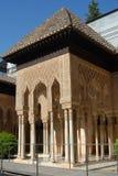 参观向阿尔罕布拉宫 库存图片