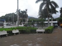 参观埃斯基普拉斯,奇基穆拉,危地马拉, Centroamerica 免版税库存照片