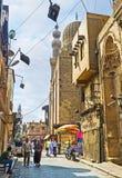参观开罗伊斯兰老城 免版税图库摄影