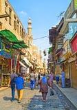 参观开罗 免版税图库摄影